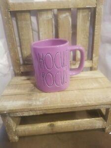 "Rae Dunn 2021 Purple Halloween Mug ""HOCUS POCUS"" NEW! HTF! 💜🎃💜"