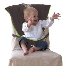 Koo Di Pack It Seat Me Safe Travel Booster Baby Feeding Support Chair Harness