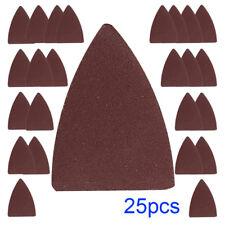 New Sand Fits Wood Finger 25pcs For Fein Pad Ryobi Oscillating Paper Bosch Tool