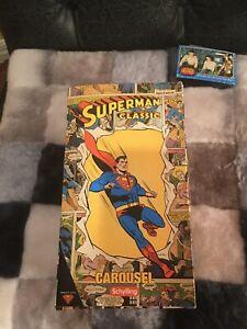 SUPERMAN Classic CAROUSEL 2091 SCHYLLING TIN TOY DC COMICS.