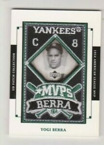 2003  Upper Deck Patch Collection #MVP 15 Yogi Berra 1954 AL MVP Card