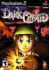 Dark Cloud 1 in original case w/ manual Black Label PlayStation 2 PS2