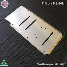Mitsubishi Triton Bash Plates  ML-MN- Transmission 4mm Stainless