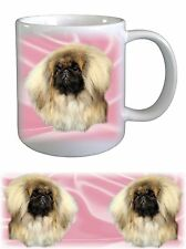 Pekingese Dog Ceramic Mug by paws2print