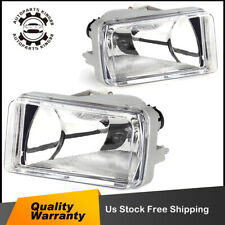 for 2007-2013 Chevy Silverado 1500 2500/3500 HD Tahoe Bumper Fog Lights w/ Bulbs
