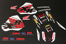 Honda XR 250-400 Blemish MX Graphics Decals Kit Stickers