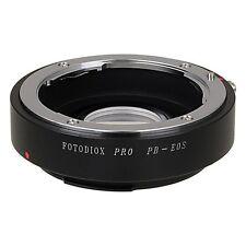 Fotodiox objetivamente adaptador Praktica B lente para Canon EOS EF/EF cámara con chip