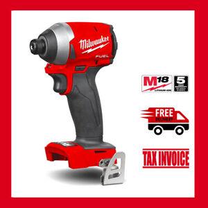 "Milwaukee M18FID2-0 Cordless Fuel GEN 3 1/4"" Impact M18 - 5 Years Warranty"