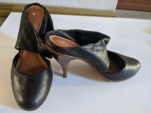 Leifsdottir Leather Shoes, US 8, 8.5