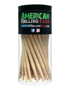 RAW Classic LEAN size Pre-rolled cone w filter 100 pack~With Doob Tube