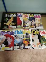 Lot of 10 issues 1999 bird talk magazine JN, MA are, APR, MAY, JUN, JUL, AUG,...