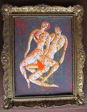 nackte Frau und nackter Mann