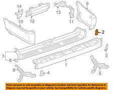 TOYOTA OEM 96-02 4Runner Rear Bumper-Face Bar Mount Bracket Right 5218535010