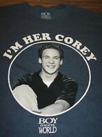 BOY MEETS WORLD I'M HER COREY TV Show T-Shirt XL NEW w/ TAG