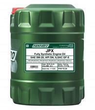 20L FANFARO JPX 5W-20 Synthetic Engine Oil API SN FORD WSS-M2C945-A ILSAC GF-5
