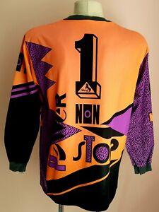 Blacky 1990`S Goalkeeper Vintage Football Jersey #1