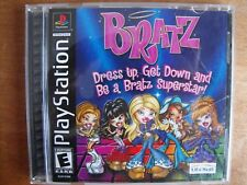 Bratz (Sony PlayStation 1, 2003) In Original Case with Booklet - FREE SHIPPING