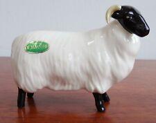 🐑JOHN BESWICK🐑 BLACK FACED SHEEP - EWE - Unboxed - P&P Inc