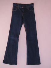 D-029 LADIES VINTAGE 90s LEVI'S 460 AUSSIE MADE FLARE DENIM JEANS SIZE 25 (AU-6)
