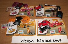 KINDER TT 65 66 67 68 VOITURE DRAGSTER - SET + BPZ + STICKERS