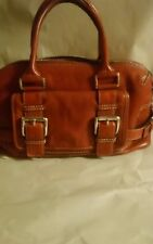 L15 Michael. Kors red. Buckle leather purse