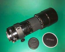 Nikon Ai-s Nikkor ED 300mm f/4.5 Manual MF Telephoto Lens