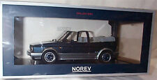 VW Golf Cabriolet 1992 Bel Air Blue Metallic 1:18 SCALE New in box
