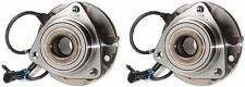 Hub Bearing Assembly for 2001 Chevrolet S10 Fit 4WD/AWD ONLY-Front Set