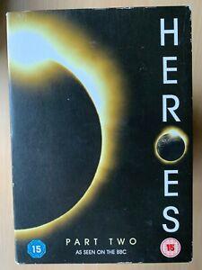 Heroes Season 1 Part 2 DVD Box Set Cult US Superhero Sci-Fi TV Series