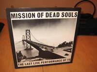 "THROBBING GRISTLE MISSION OF DEAD SOULS 1981 ROCK 12"" LP VINYL ALBUM RECORD"