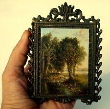 ACEO Original Painting, Miniature Landscape, David Smith Landscape, Old Master