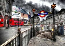London Piccadilly Circus  Poster A2 SIZE