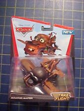 DISNEY PIXAR CARS DELUXE SIZE AVIATOR MATER! TAKE FLIGHT SERIES!  NIP  MEGA
