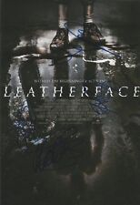 Leatherface Multi-Signed 12x8 Photo AFTAL *SIGNED BY 4*