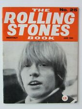 THE ROLLING STONES MONTHLY BOOK No 25   1966 ORIGINAL  ISSUE FANTASTIC CONDITION