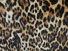 "2 yards 24"" stretch spandex velvet fabric animal print"