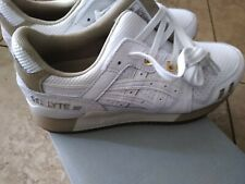 ASICS 1191A200 Men's Gel-Kayano Trainer Shoes Size 10.5 - White/White
