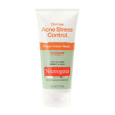 Neutrogena Oil-Free Acne Stress Control Power-Cream Wash  (6 fl. oz/ 177 ml)