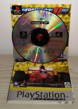 FORMULA 1 97 Ps1 psx gioco game Sony Playstation completo platinum psygnosis