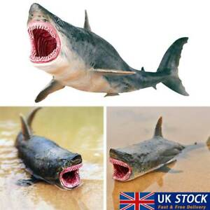Great White Shark Model Toy Perfect Match For Kids Children Collector Decor UK