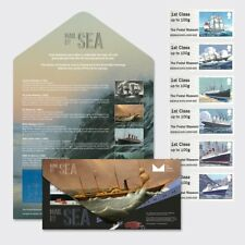 POSTAL MUSEUM MAIL BY SEA PRESENTATION PACK Post Go FEB 2018 B2GB18 - SOLD OUT!