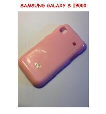 Custodia cover SILICONE Tpu CASE JELLY PER SAMSUNG GALAXY S I9000 PINK ROSA