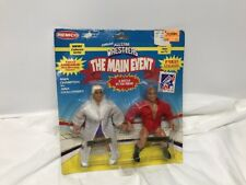 Vintage Remco AWA Ric Flair & Larry Zbyszko Figures MOC - WWE/WWF