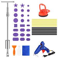 T Bar Slide Hammer Paintless Dent Removal Puller Tabs Car Auto Repair Tools Kit