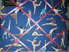 Gymnastics Themed Memory Board with Hooks