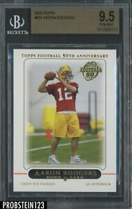 2005 Topps #431 Aaron Rodgers RC Rookie BGS 9.5