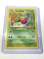 WEEPINBELL - Jungle Set - 48/64 - Uncommon Pokemon Card - Unlimited Edition - NM