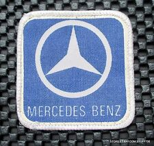 """MERCEDES BENZ PRINTED SEW ON PATCH GERMAN AUTOMOBILE UNIFORM ADVERTISING 2 1/2"""""""