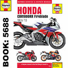 Honda CBR1000RR Fireblade 2008-2013 Haynes Workshop Manual