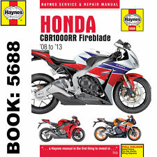 Honda motorcycle repair manuals literature ebay honda cbr1000rr fireblade 2008 2013 haynes workshop manual fandeluxe